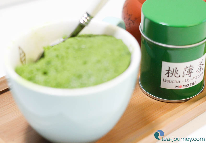 Make a special treat for yourself with Momo Tea Matcha Green Tea Mug Cake Recipe.